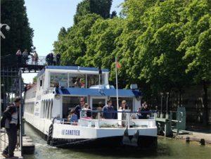 Du canal Saint-Martin… à Paris sur Seine avec l'AGREPI Ile-de-France !